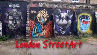 Прогулки По Лондону. Чем заняты уличные художники после карантина.