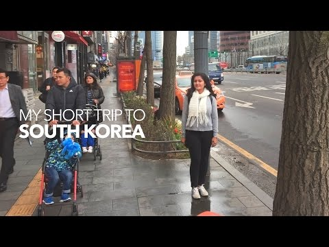 INDIAN GIRL IN SOUTH KOREA|SEOUL and DMZ Zone