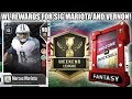 WEEKEND LEAGUE REWARDS FOR SIGNATURE MARIOTA AND VERNON! | MADDEN 18 ULTIMATE TEAM