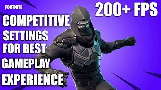 Fortnite Battle Royale Season 7 200+ FPS Competitive Settings Gameplay Benchmark /GTX 1060 6gb