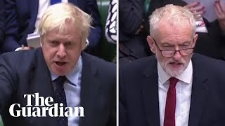 Corbyn and Johnson clash over no-deal Brexit: 'Anti-democratic and unconstitutional'