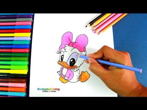 How To Draw Baby Daisy Duck