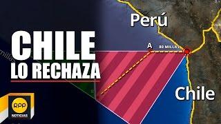 Chile rechaza nuevo mapa del Perú