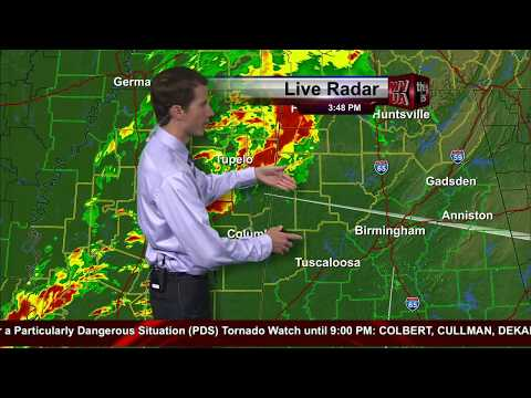 Richard Scott's Coverage of the Alabama Tornado Outbreak of April 28, 2014
