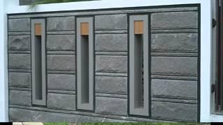 Modern Minimalist Fence Wall