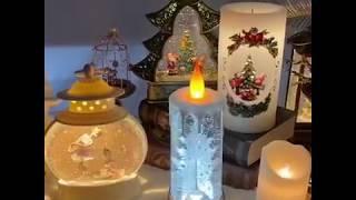 예쁜 크리스마스 오르골 워터볼 christmas mus…
