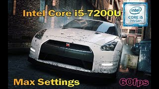 Intel Core i5 7200U - Need for Speed Most Wanted 2012