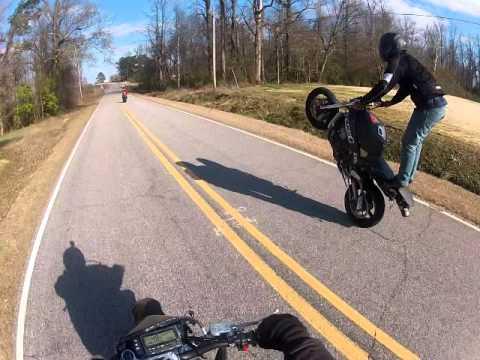 Stunts 636 and drz400sm - Stunt Bike Forum