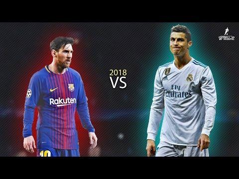Lionel MESSI VS Cristiano RONALDO 2018 ● Masterpiece 2018   Crazy Skills & Goals ● HD