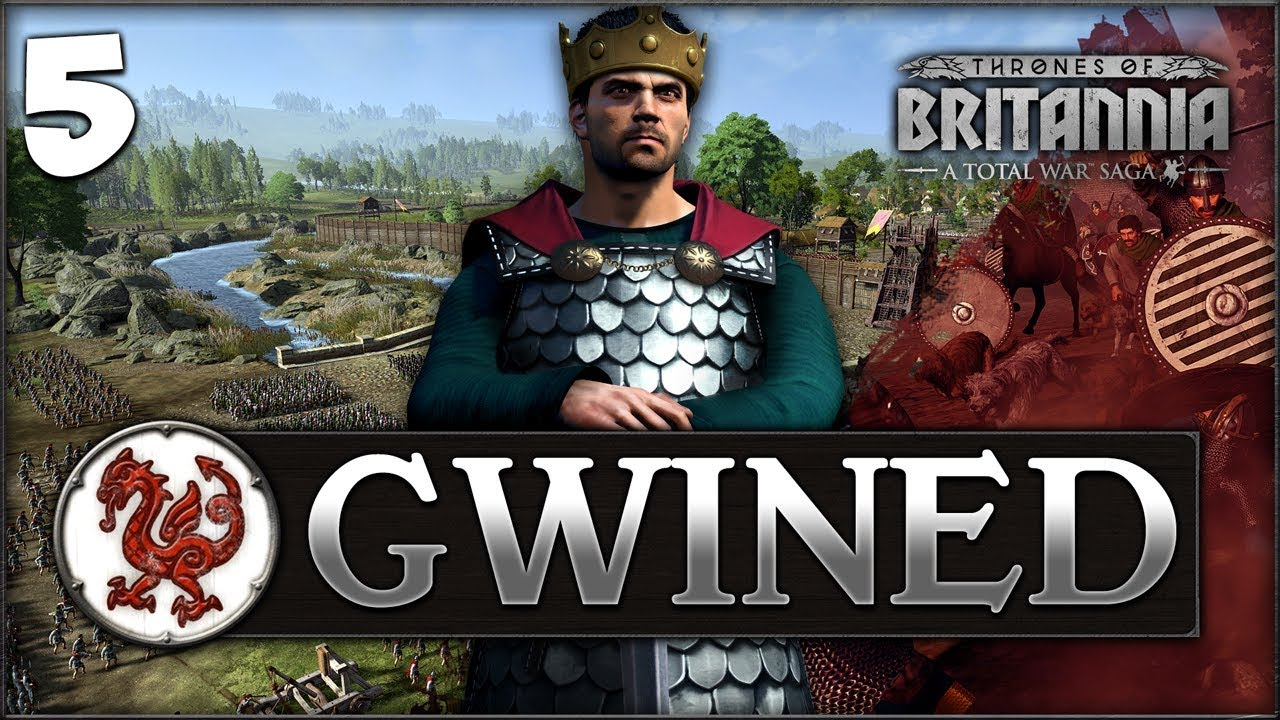 A UNITED WALES! Total War Saga: Thrones of Britannia - Gwined Campaign #5