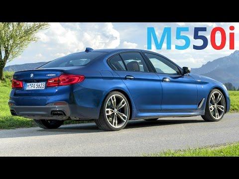 2017 BMW M550i xDrive - 0 to 100 km/h (62 mph) in 4.0 sec. (462 hp, 650 Nm)