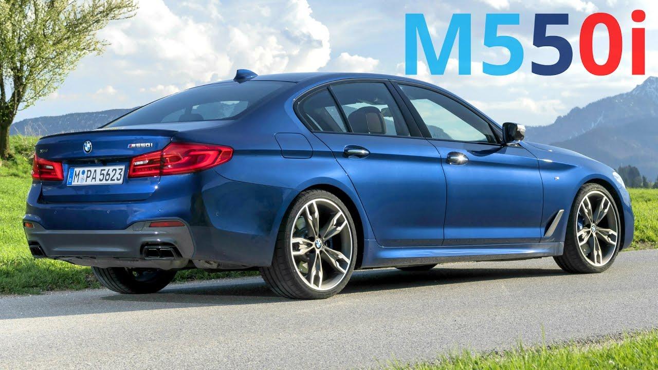 2017 Bmw M550i Xdrive The State Of Art Sedan With 462 Hp V8 Engine