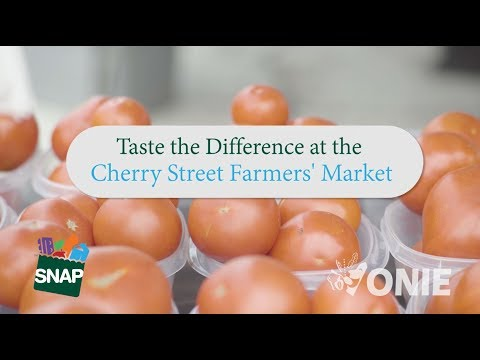 The Cherry Street Farmers Market - Taste the Difference