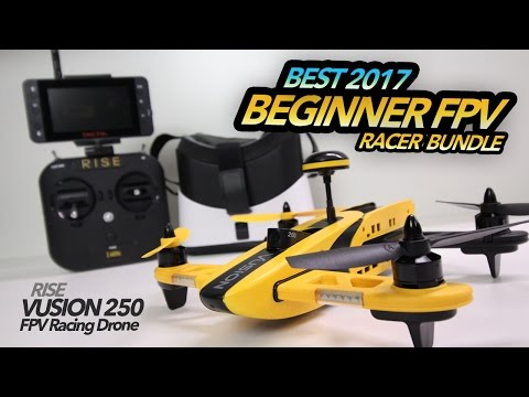 BEST 2017 Beginner Racer Drone - RISE VUSION 250 Review
