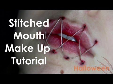 Stitched Mouth | Make Up Tutorial | Halloween