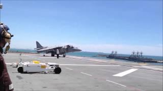 Despegue Vertical AV- 8B Harrier ll