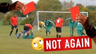 DOUBLE RED CARD AND PENALTIES (COUNTY CUP 1ST ROUND) | Brotherhood Sunday League Football