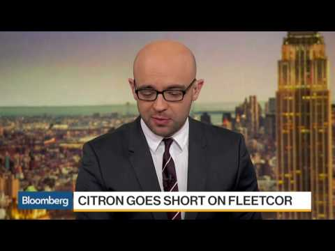 Andrew Left: Citron Research Goes Short on FleetCor