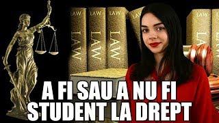 Gambar cover A fi sau a nu fi student la drept