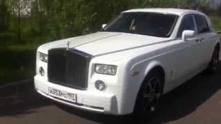 Прокат автомобилей класса люкс: Rolls-Royce Phantom