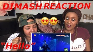REACTION to Dimash Kudaibergen -Hello-Singer 2018