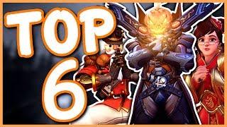 Overwatch - TOP 6 BEST EVENTS IN OVERWATCH
