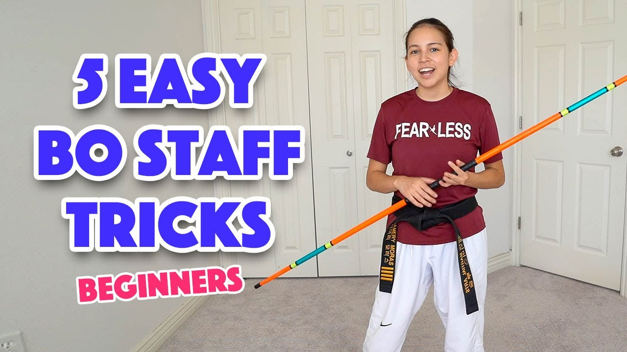 Easy Bo Staff Tricks for Beginners | Taekwondo, Karate, Martial Arts