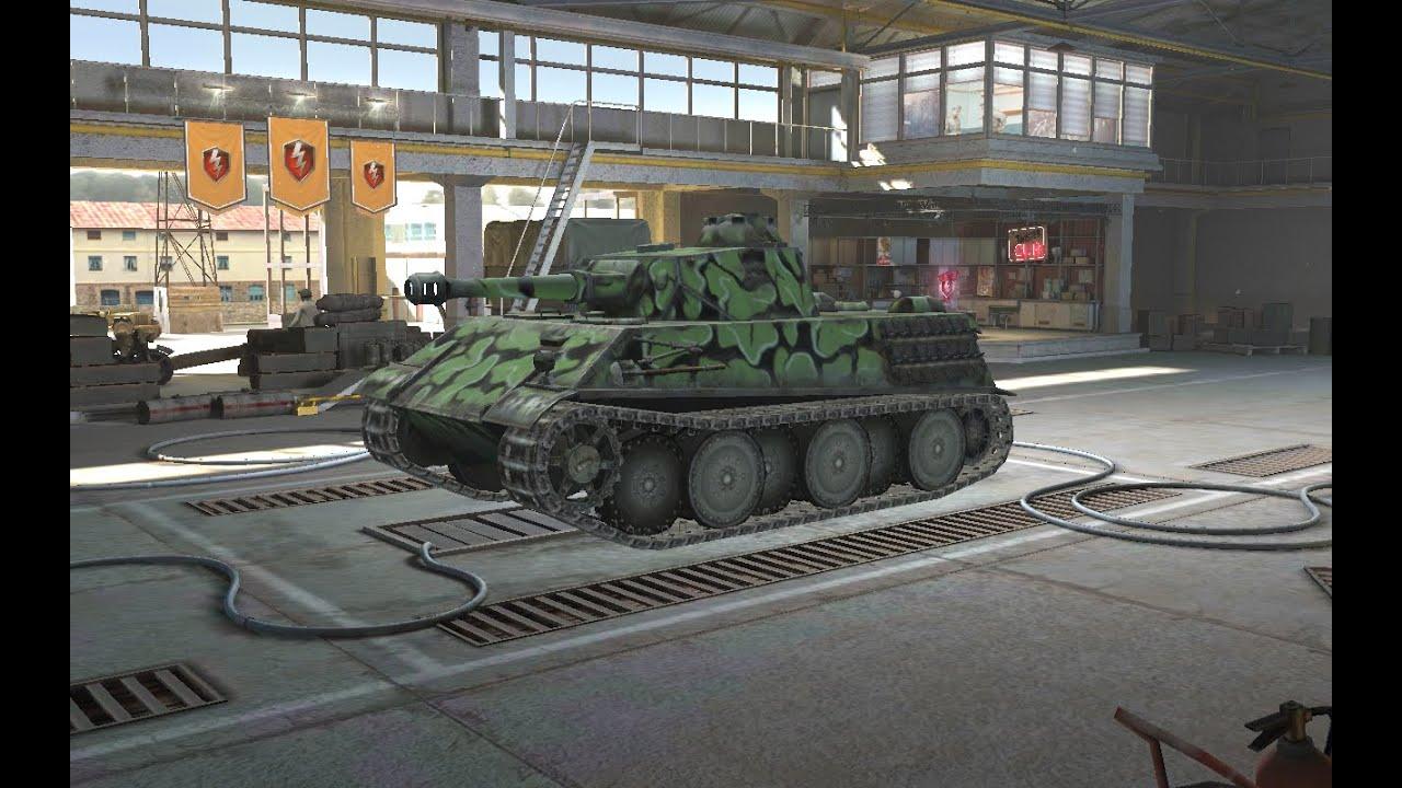 VK 28.01 105mm 1 vs 3 | World of Tanks Blitz - YouTube