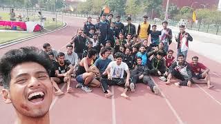 athletes tour at thapar university in Patiala