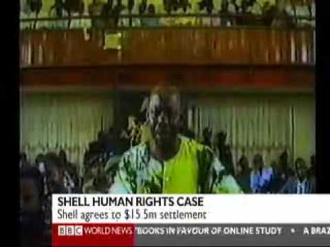 Wiwa v Shell on BBC World