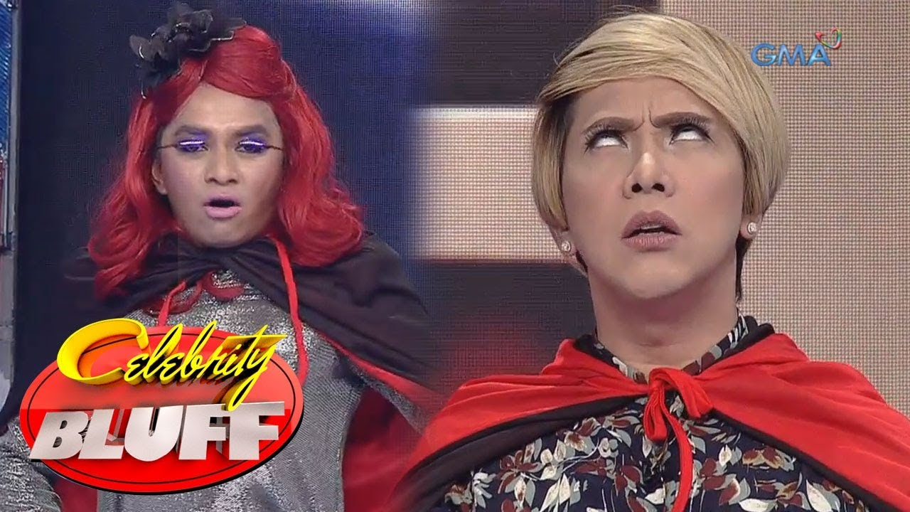 'Celebrity Bluff' Outtakes: Super Linis vs Super Kombulsyon