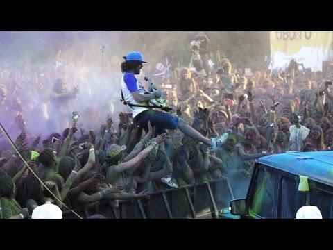"""Noize MC —  Королевский Фестиваль Красок 2014 (19.07.14 стадион """"АРСЕНАЛ"""" Санкт - Петербург)"""