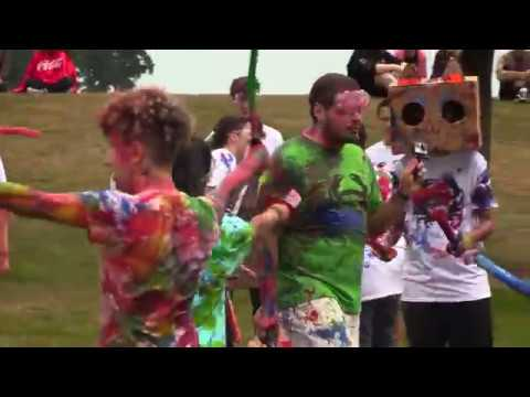 Montserrat College of Art 2017 Orientation Paint Fight