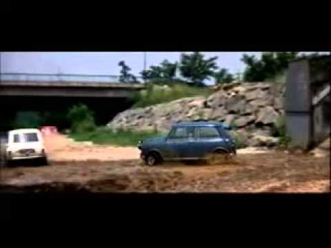 The Italian Job (Car Chase-Mini Coopers)