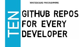 10 Top Github Repos for Every Developer (Essentials) | Best GitHub Repositories