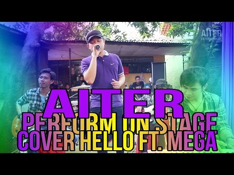 AITER Band - Pilihan Hati (Cover Hello Ft. Mega) Perform On Stage