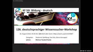 2018 08 16 PM Public Teachings in German - Öffentliche Schulungen in Deutsch