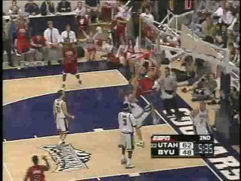Andrew Bogut Highlights 2005 University of Utah