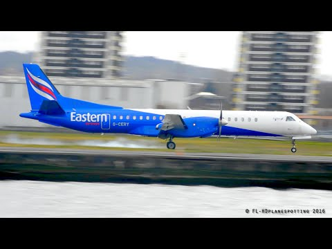 Eastern Airways Saab 2000 G-CERY at Lonon-City [LCY/EGLC]