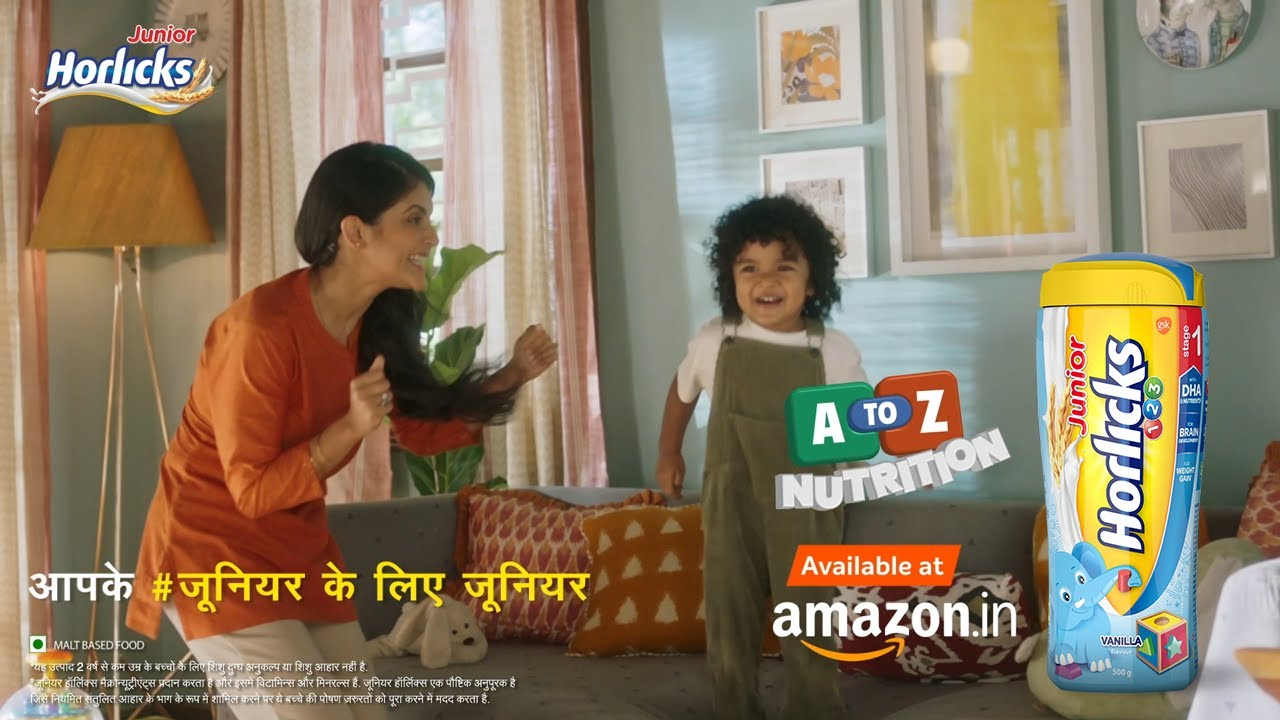 Junior Horlicks- Aapke #JuniorKeLiyeJunior