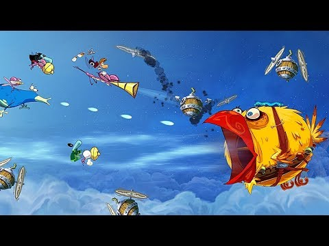 Rayman Origins - Full Game Walkthrough (Co-Op) 1-10 Chapters | Ubisoft