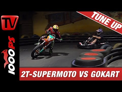 2 Takt Supermoto vs. GoKart - Driftbattle 3/3 - SuMo Drift - 2Takt
