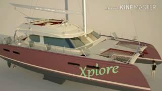 X65 Sail Catamaran Concept Design Andrei Rochian
