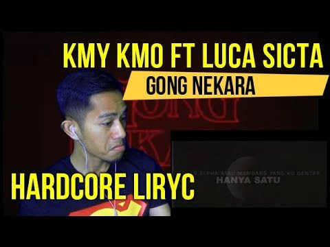 KMY KMO FT LUCA SICKTA - GONG NEKARA || REACT TO MALAYSIAN MUSIC VIDEO || REACTION #95