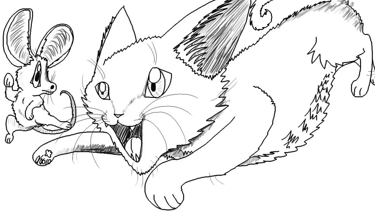 Mice Coloring Book Pictures Of Cats Coloring Coloring Pages