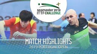 Xu Yingbin vs Daniel Habesohn | 2019 ITTF Challenge Plus Portugal Open Highlights ( R16 )