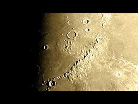 Луна и Юпитер в сильном увеличении 11 июня 2019