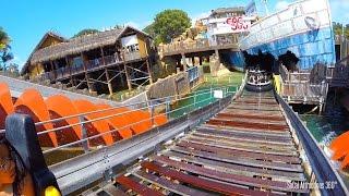 Shipwreck Rapids (HD POV) - Raft Ride - SeaWorld San Diego 201…