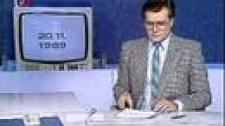 Sametová revoluce zprávy 20.11.1989