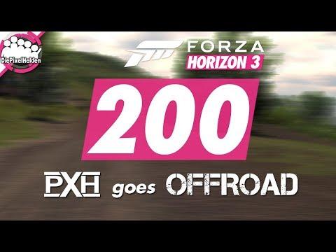 FORZA HORIZON 3 #200 - PXH Performance geht Offroad - Let's Play Forza Horizon 3